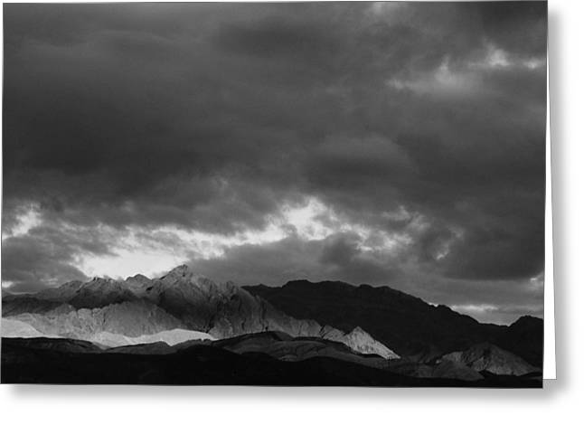 Light In The Mountains Greeting Card by Jenny Fish