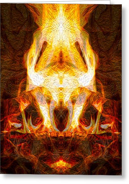 Light My Fire II Greeting Card by Omaste Witkowski