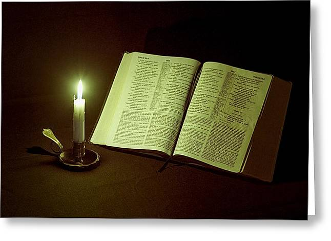Light Of Hope Greeting Card