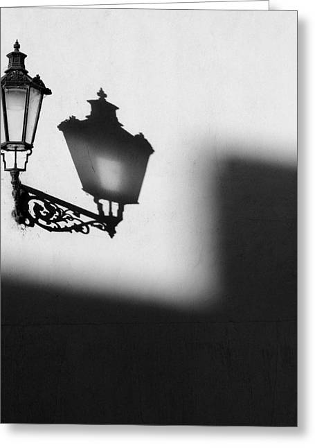 Light Shadow Greeting Card by Dave Bowman