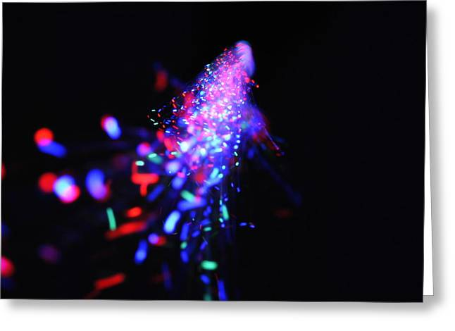 Light Show1.2 Greeting Card by Frederico Borges