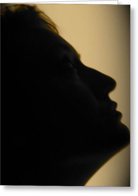 Light Study Sp 2 Greeting Card by Ashley Ordines