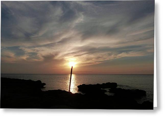 Light The Sun Greeting Card by Amar Sheow