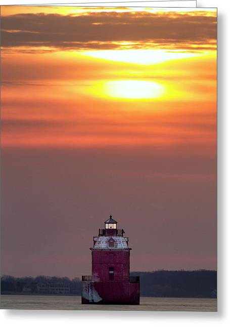 Light The Way Greeting Card by Edward Kreis