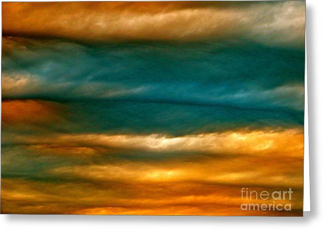 Light Upon Darkness Greeting Card by Joy Hardee