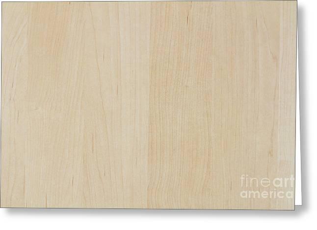 Light Wood Laminate Greeting Card