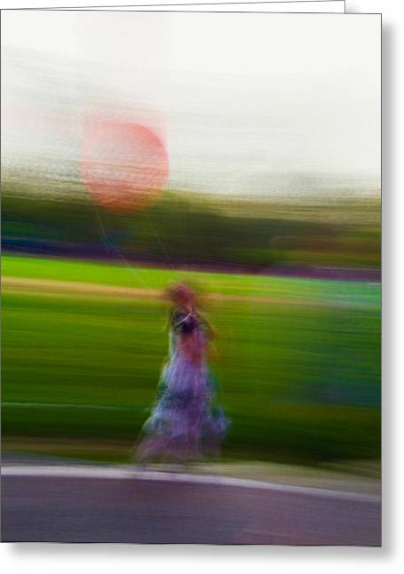 Greeting Card featuring the photograph Lighter Than Air by Alex Lapidus
