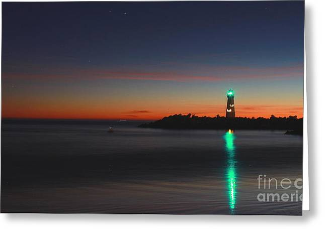 Greeting Card featuring the photograph Lighthouse 6 by Theresa Ramos-DuVon
