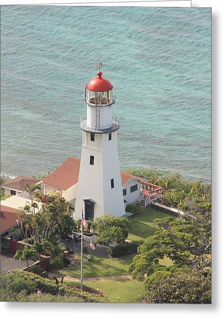 Lighthouse Greeting Card by Adam Levine