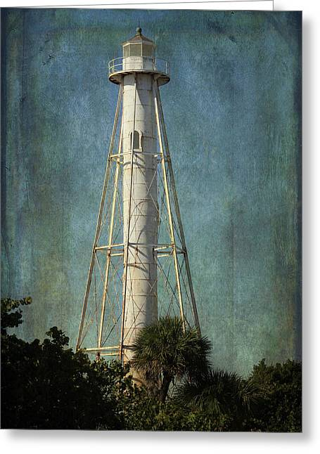 Lighthouse - Guiding Light Greeting Card by HH Photography of Florida