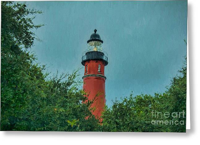 Lighthouse In Ponce Greeting Card