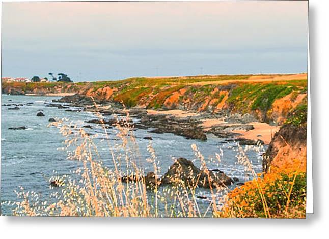 Lighthouse In Summer Greeting Card by Artist and Photographer Laura Wrede