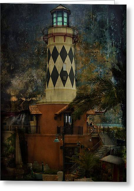 Lighthouse Greeting Card by Mario Celzner