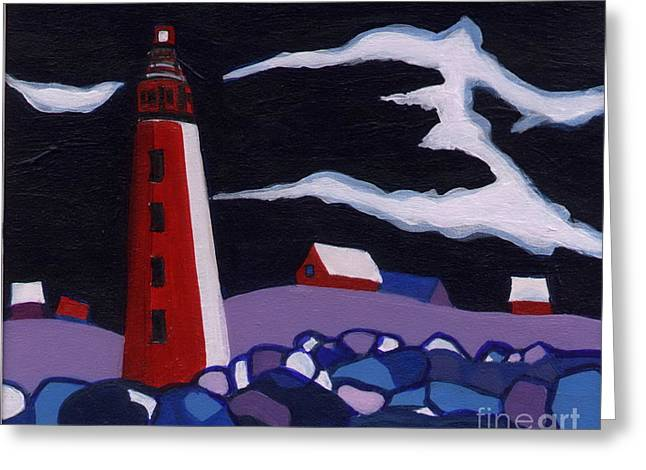 Lighthouse Miniature Greeting Card