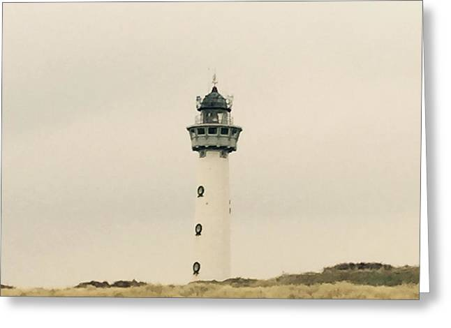 Lighthouse Netherlands Greeting Card