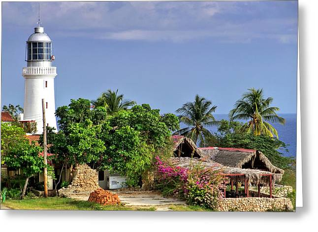 Lighthouse Santiago De Cuba Greeting Card