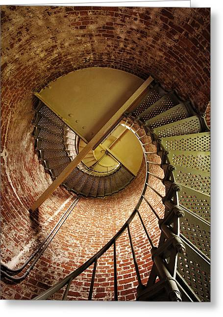 Lighthouse Stairwell Greeting Card