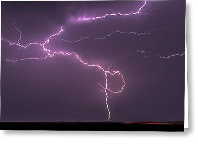 Greeting Card featuring the photograph Lightning by Rob Graham