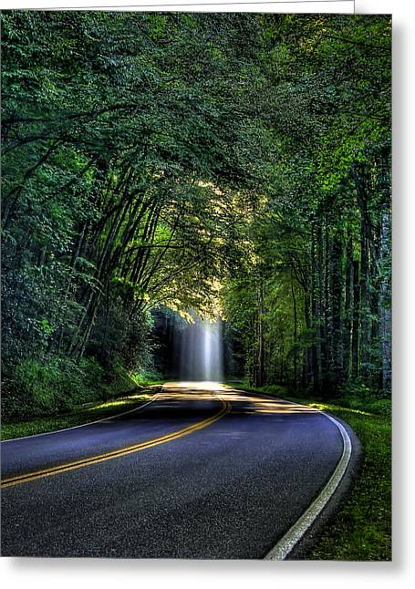Stairways To Heaven The Great Smoky Mountains Greeting Card by Reid Callaway