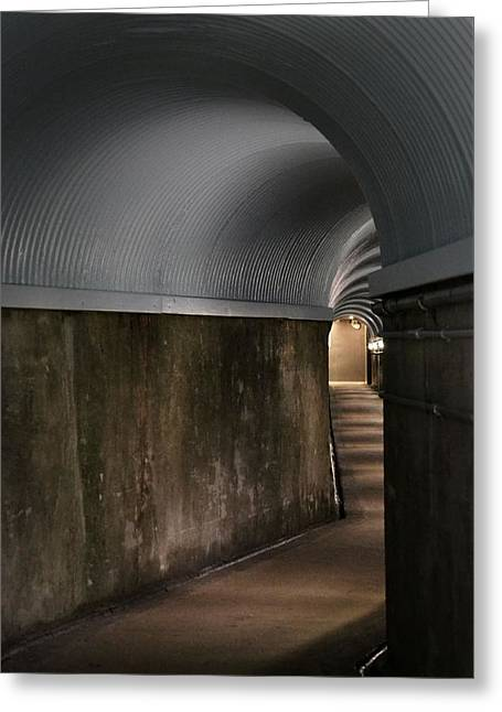 Lights At The End Of The Tunnel Greeting Card