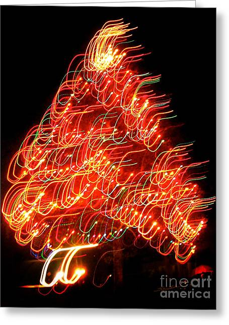 Lights Before Christmas Greeting Card by Gem S Visionary
