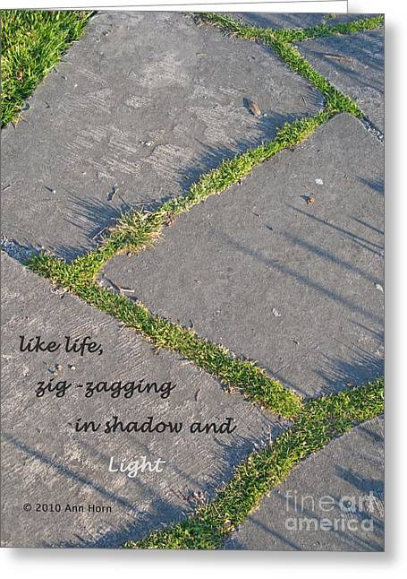 Like Life Greeting Card by Ann Horn