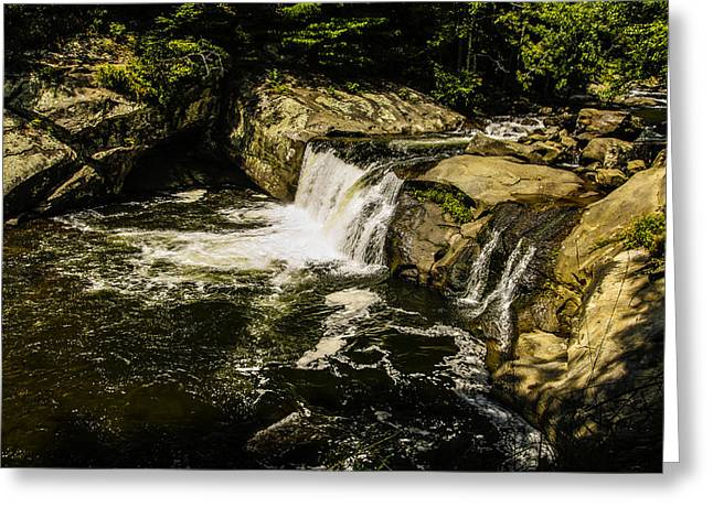 Lil Bald River Falls Greeting Card