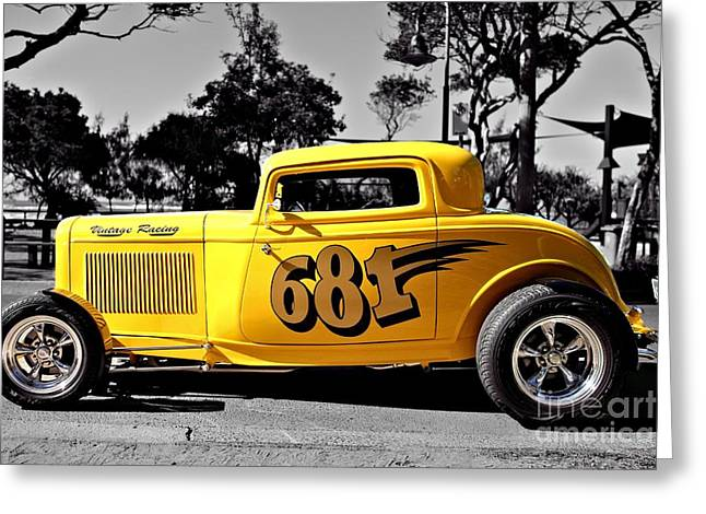 Lil' Deuce Coupe Greeting Card