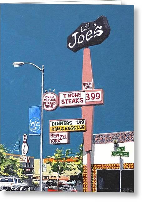 Li'l Joe's Greeting Card by Paul Guyer