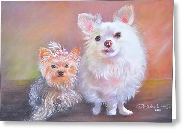 Lili And Tenti Greeting Card
