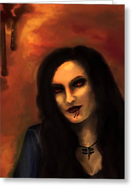 Lilith Greeting Card