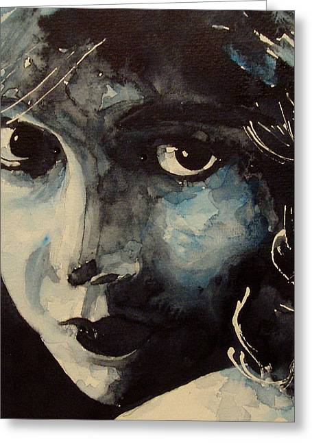 Lillian Gish  Greeting Card by Paul Lovering