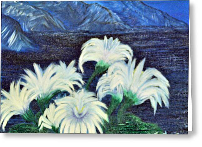 Lillies Greeting Card by Suzanne Surber