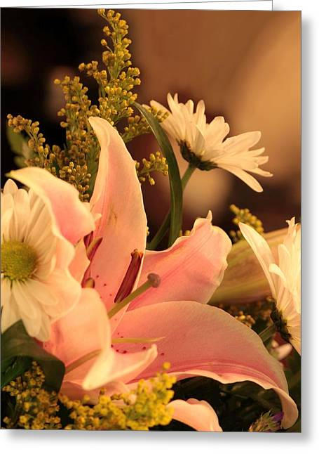 Lily In Pink Greeting Card