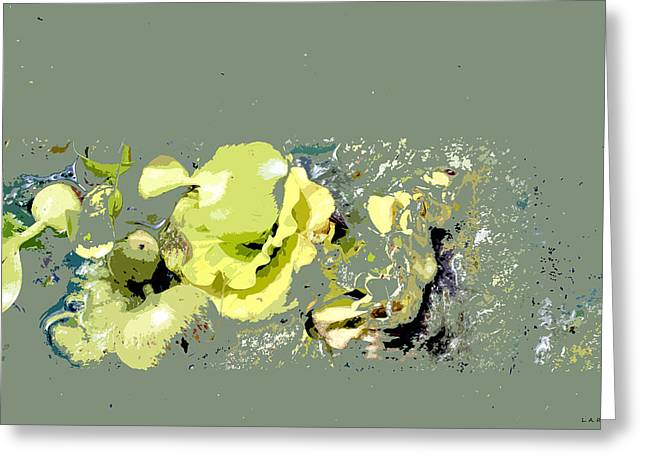 Lily Pads - Deconstructed Greeting Card