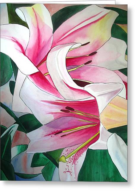 Lily Triumphator Greeting Card by Sacha Grossel