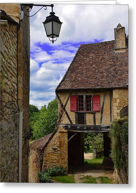 Limeuil En Perigord Greeting Card by Dany Lison