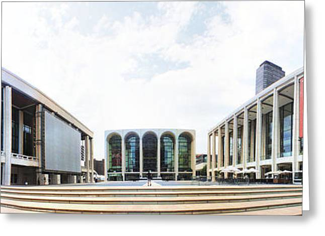 Lincoln Center Nyc Greeting Card by Nishanth Gopinathan