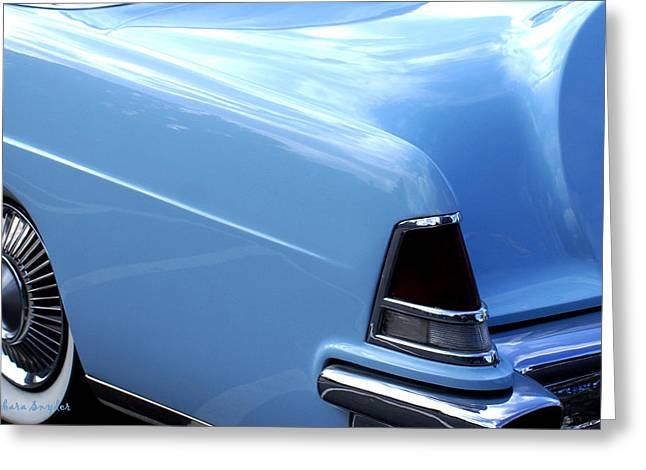 Lincoln Continental  Greeting Card by Barbara Snyder