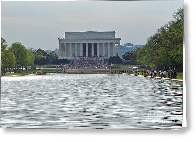 Lincoln Memorial 1 Greeting Card