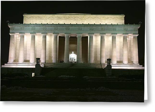 Lincoln Memorial Greeting Card by Andrew Johnson