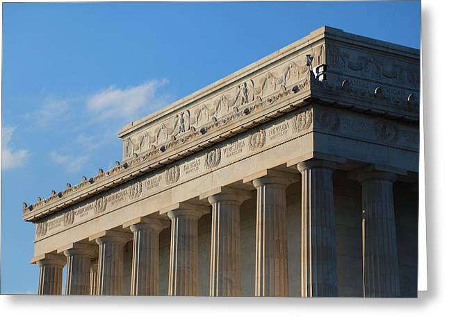 Lincoln Memorial - The Details Greeting Card