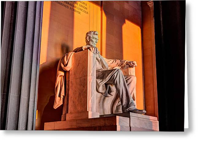 Lincoln Greeting Card