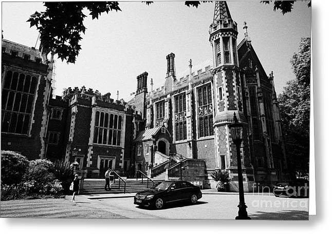 lincolns inn library and great hall London England UK Greeting Card by Joe Fox