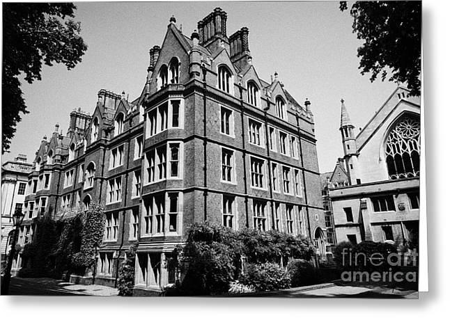 lincolns inn old square hall and chapel London England UK Greeting Card by Joe Fox