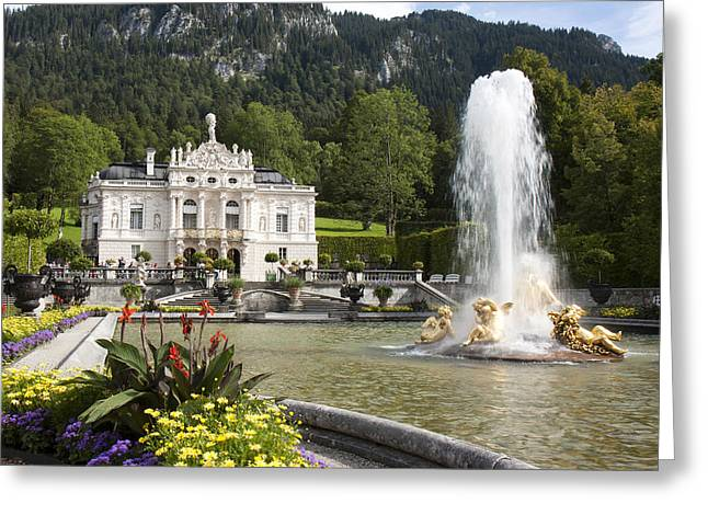 Linderhof Palace Greeting Card