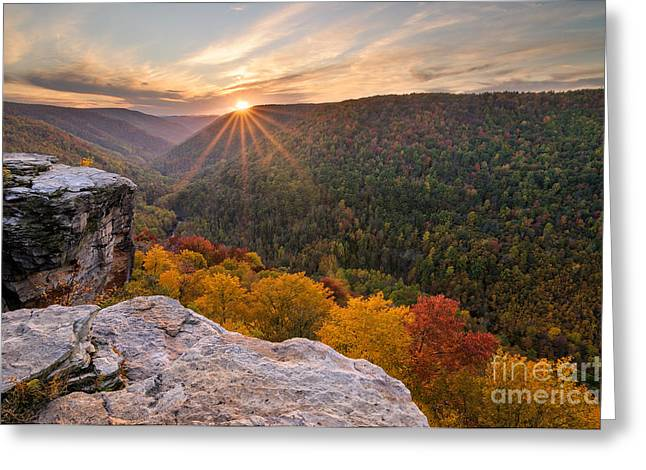 Lindy Point D30015722 Greeting Card by Kevin Funk