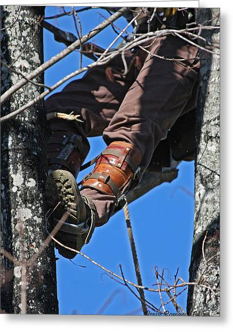 Lineman Greeting Card