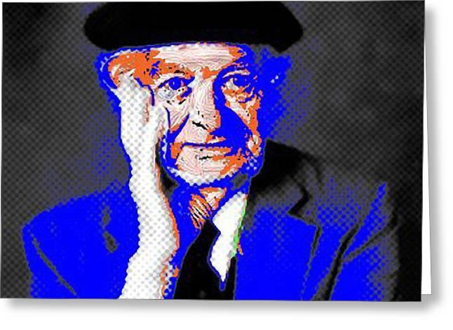 Linus Pauling Greeting Card