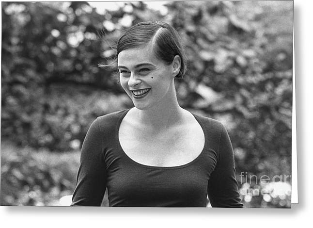 Singer Lisa Stansfield Greeting Card